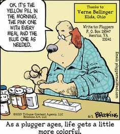 More colorful. Pluggers  (June/01/2015). Gary Brookins.