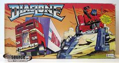 Diaclone Optimus Prime