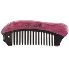 Breezelike No Static Fish Shaped Black Buffalo Horn with Purpleheart Wood Pocket Comb * This is an Amazon Affiliate link. Check this awesome product by going to the link at the image.