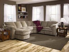Living Room Sectionals With Regular Design