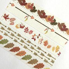 Washi Tape Fall Autumn Leaves Arrows Leaf Thanksgiving