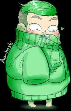 Jacksepticeye in a sweater