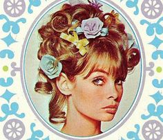 1960s ads for Yardley cosmetics featuring Jean Shrimpton