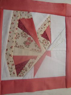 PDF BUTTERFLY The pattern pieces as given make a 7 3/4 x 7 3/4(20 x 20cm) block; for other sizes, use the handy percentages chart to enlarge or reduce