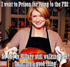 I went to prison for lying to the FBI. So why is Hillary still walking free? Do it. It's a good thing.