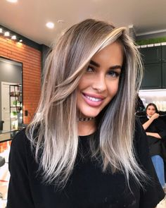 Brown Ombre Hair, Ombre Hair Color, Brown To Blonde Ombre Hair, Best Ombre Hair, Dark Roots Blonde Hair, Winter Hairstyles, Pretty Hairstyles, Blonde Hair Looks, Brunette Hair
