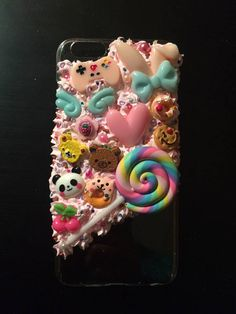 Unique Decoden cute phone case for iphone 6 plus PINKITYPINK2