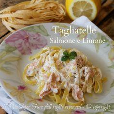 Tagliatelle salmone e limone ricetta facile e veloce Il Mio Saper Fare