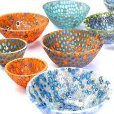 Nathan Sandberg Murrine Drop out Vessels Mastercalss at Warm Glass UK