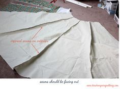 DIY Teepee Sewing Tutorial, I've been wanting to make one of these for E and C!