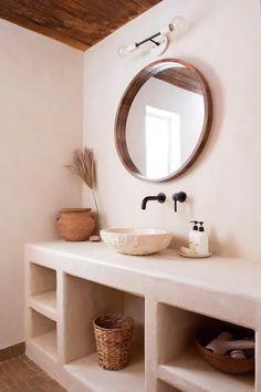 Agave Suite at Posada by the Joshua Tree House - Nature lodges for Rent in Tucson, Arizona, United States Bathroom Interior, Home Interior, Interior Design, Bad Inspiration, Bathroom Inspiration, House In Nature, Desert Homes, Home And Living, Slow Living