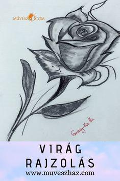 Virág rajzolás, az elejéről, hogyan rajzoljunk? A Trükkök: Art, Art Background, Kunst, Performing Arts, Art Education Resources, Artworks