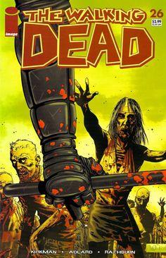 Capa da Edição #26 de The Walking Dead