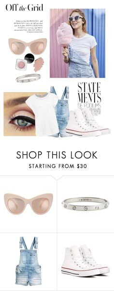 """Carnival day outfit"" by lailabrown26 ❤ liked on Polyvore featuring Cartier and Converse"