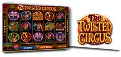 the twisted circus microgaming video slot
