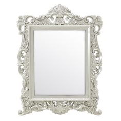 Plastic Mirror - Wooden - Polyester - MIRRORS - inart