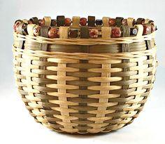 BASKET WEAVING PATTERN Patchouli Biscuit Basket