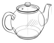 How to draw a teapot Drawing tutorial