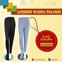 Jual Celana Hijab Muslim , Legging Wudhu Pelangi - Business Photos