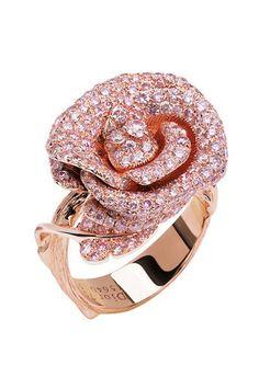 dior jewel by victoire de castellane  bague rose dior bagatelle