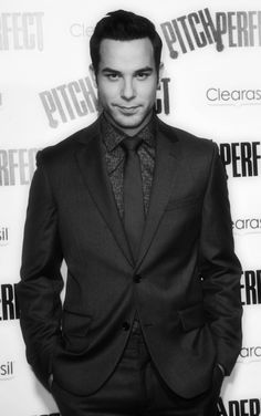 Skylar Astin. He can sing, he can dance, and those eyes!