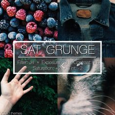 SAT. GRUNGE | This is a really cool saturated filter! This looks good with a lot of darker photos.. | Looks awesome for a feed if you can do it right!. | Q - What's the last song you listened to? A - Working Class Hero - Green Day. - - #Vsco #vscofilter #vscofilters #vscocam #vscocamfilters #themes #feed #theming #photography #filter #filters - #vtpaid
