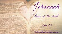 Beloved Baby Names: My favorite Biblical Girls Names