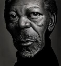 Morgan Freeman - Tiago Hoisel