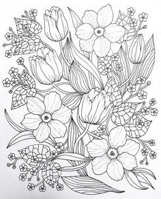 Resultado de imagem para romantic country coloring pages | Coloring ...
