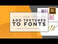 Watercolor, gold foil & other textures to fonts — Becky Kinkead