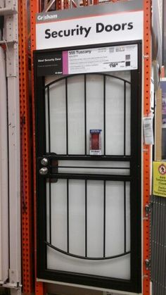 1000+ images about Grisham Steel Security Doors / Bars on ...