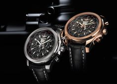 Breitling and Bentley Motors are celebrating their anniversary as partners by creating three new chronographs. The new watches are the Bentley GMT, the Bentley Watches, Breitling Bentley, Breitling Avenger, Breitling Watches, Breitling Superocean Heritage, Best Watches For Men, Cool Watches, Men's Watches, Unique Watches