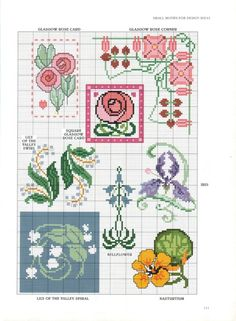Gallery.ru / Фото #95 - Art Nouveau Cross Stitch - CrossStich
