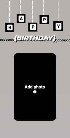 Happy Birthday Posters, Happy Birthday Frame, Happy Birthday Wallpaper, Birthday Posts, Birthday Frames, Birthday Quotes, Instagram And Snapchat, Instagram Story Ideas, Instagram Quotes