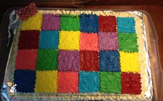 Coolest Patchwork Quilt Cake... Coolest Birthday Cake Ideas