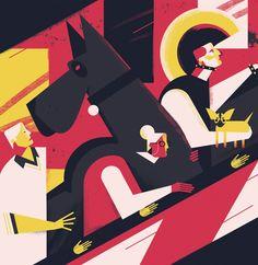 dale edwin murray freelance illustrator waitrose weekend editorial magazine illustration
