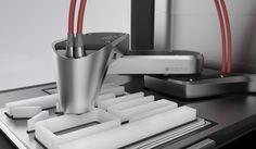 XEOS 3D Printer Concept by Stefan Reichert