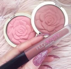Makeuphall: The Internet`s best makeup, fashion and beauty pics are here. Pin Up Makeup, Makeup Is Life, Star Makeup, Makeup Geek, Makeup Style, Cute Gel Nails, Cute Acrylic Nails, Glitter Nails, Makeup Brands