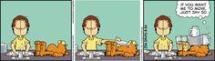 Garfield Quotes, Garfield Cartoon, Garfield And Odie, Garfield Comics, Cat Cartoons, Garfield Wallpaper, Hagar The Horrible, Jim Davis, Non Sequitur