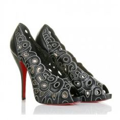 Christian Louboutin Evening Shoes http://www.pickredstyle.com