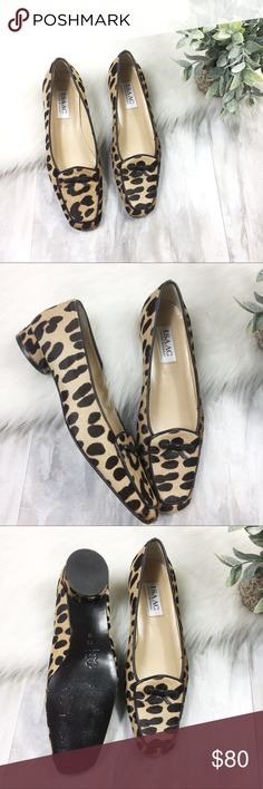 Isaac Mizrahi Cheetah Print Loafers EUC loafers, cheetah print. Isaac Mizrahi New York. Leather. Vero Cuoio. Size 7.5. Isaac Mizrahi Shoes Flats & Loafers