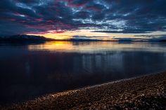 Sunset at Lakeside Lake Tahoe CA [OC][1080x720]