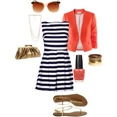 wear like this for a casual day out. add some wedges & wear to a summer wedding