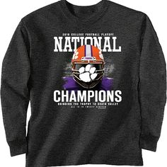 separation shoes 9b1e4 f3928 7 Best Clemson National Championship Gear images in 2017 ...