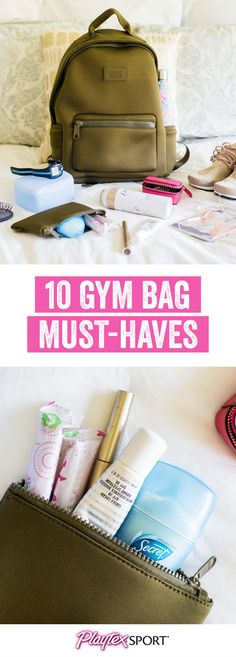 From fun gym clothes and dry shampoo to makeup wipes and Playtex® Sport® Compact®, make sure you have everything you need to crush your next workout in confidence by checking out these 10 Gym Bag Essentials. By picking up everything you need at Target and keeping it on-hand, you'll be ready for your exercise or training session no matter the time of the month. Let's be real, it never hurts to be too prepared!