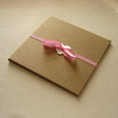 20 Kraft CD Cases 2 Pocket Folio Wedding Favor by SomersetMarket