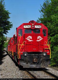 RailPictures.Net Photo: RJCP 7710 R.J. Corman Railroads EMD GP38 at Cresson, Pennsylvania by Steven Mckay