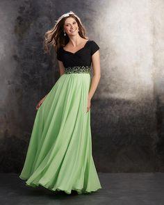 Long Chiffon Prom Dresses 2015 with Beads | wowodress.com