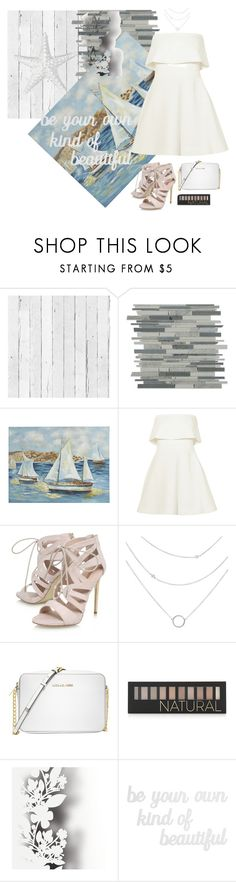 """Boat Party"" by sianlin ❤ liked on Polyvore featuring NLXL, Pier 1 Imports, Elizabeth and James, Carvela, Michael Kors, Forever 21, Élitis and PBteen"
