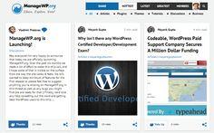 ManageWP.org el menéame de WordPress - WordPress Random Themes